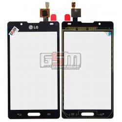 Тачскрін для LG P710 Optimus L7 II, P713 Optimus L7 II, P714 Optimus L7X, чорний