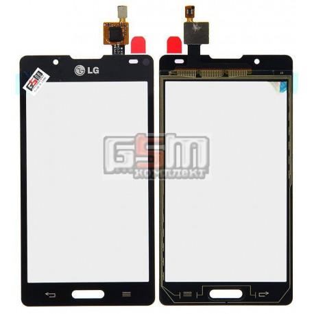 Тачскрин для LG P710 Optimus L7 II, P713 Optimus L7 II, P714 Optimus L7X, черный