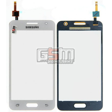 Тачскрин для Samsung G355H Galaxy Core 2 Duos, белый