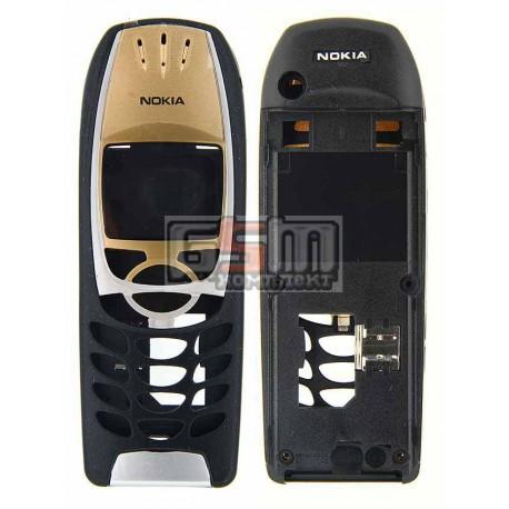 Корпус для Nokia 6310, 6310i, копия AAA, черный
