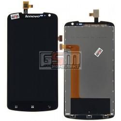 Дисплей для Lenovo S920, черный, с сенсорным экраном (дисплейный модуль), #YT53F01W0-GR