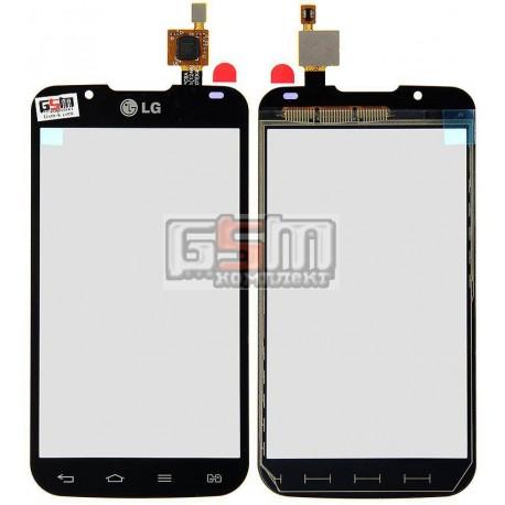 Тачскрин для LG P715 Optimus L7 II, черный