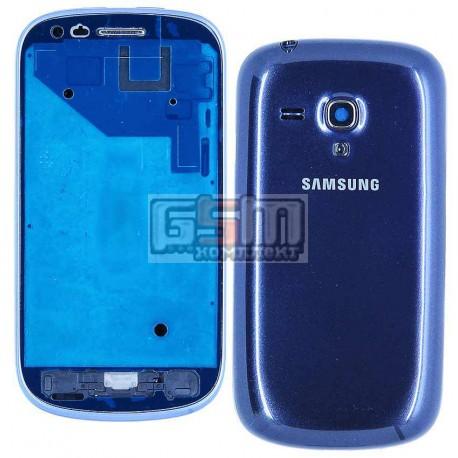 Корпус для Samsung I8190 Galaxy S3 mini, синий