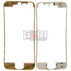 Рамка крепления дисплея для Apple iPhone 5, белая