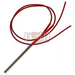 Нагревательный элемент для сепаратора 220V, 200Вт, длина 80мм, диаметр 6мм