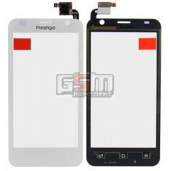 Тачскрін для Prestigio MultiPhone 3450 Duo, білий, #QT052354506 WTP-C14.5BA-F
