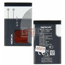 Аккумулятор BL-5C для Nokia 1100, 1101, 1110, 1280, 1600, 1616, 202 Asha, 203 Asha, 220 Dual SIM, 2300, 2310, 2323c, 2330c, 2600