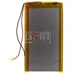 Аккумулятор для китайского планшета, универсальный (110*60*3,2 мм), (Li-ion 3.7V 2100mAh)