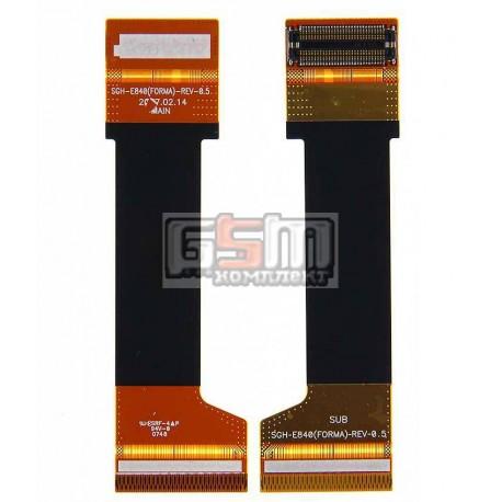 Шлейф для Samsung E840, E840B, E848, межплатный, с компонентами