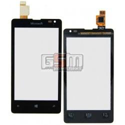 Тачскрин для Microsoft (Nokia) 435 Lumia, черный