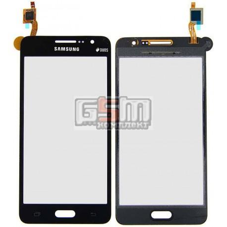 Тачскрин для Samsung G530F Galaxy Grand Prime LTE, G530H Galaxy Grand Prime, серый, #BT541