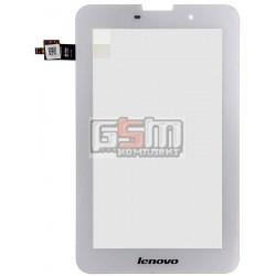 Тачскрин для планшета Lenovo IdeaTab A3000, IdeaTab A5000, белый, #NTP070CM352001/NAS_207011100008