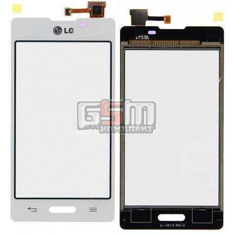 Тачскрин для LG E450 Optimus L5x, E460 Optimus L5, белый
