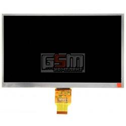 Экран (дисплей, монитор, LCD) для китайского планшета 10.1, 40 pin, с маркировкой MF1011684001A, BG101HL007TT16TAYFX, BF007B40IA, 147-H00101W050, YH101IF40-A, T10140B-A3, для Assistant AP-115G, размер 235x143