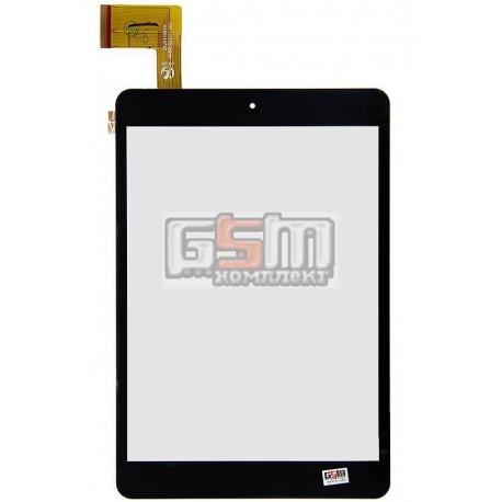 """Tачскрин (сенсорный экран, сенсор) для китайского планшета 7.85"""", 40 pin, с маркировкой HK80DR2437-V01, для Nomi A07850, размер"""
