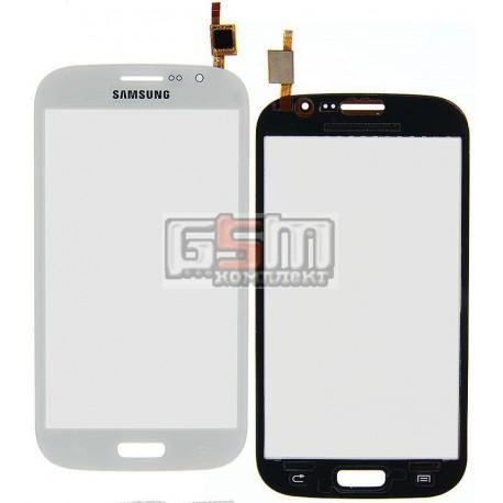 Тачскрин для Samsung I9080 Galaxy Grand, I9082 Galaxy Grand Duos, белый
