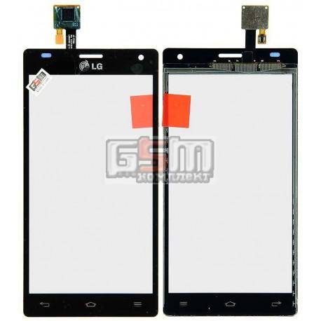 Тачскрин для LG P880 Optimus 4X HD, черный