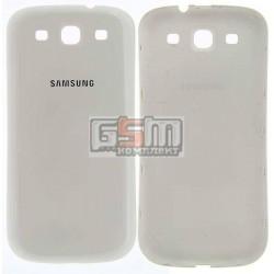 Задня кришка батареї для Samsung I9300 Galaxy S3, біла