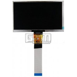 "Экран (дисплей, монитор, LCD) для китайского планшета 7"", 50 pin, с маркировкой ZK7DB502L RXD, размер 165*100, толщина 3мм"
