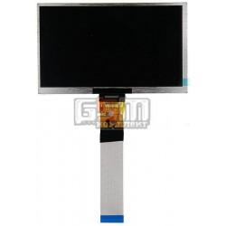 Экран (дисплей, монитор, LCD) для китайского планшета 7, 50 pin, с маркировкой ZK7DB502L RXD, размер 165*100, толщина 3мм