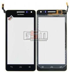 Тачскрин для Huawei U8950 Honor+ Ascend G600, U9508 Honor 2, черный