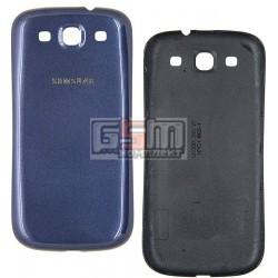 Задня кришка батареї для Samsung I9300 Galaxy S3, синя