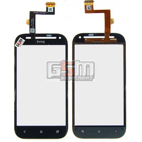 Тачскрин для HTC T326e Desire SV, черный