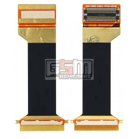 Шлейф для Samsung U600, U600B, U600G, межплатный, с компонентами