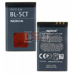 Аккумулятор BL-5CT для Nokia 3720c, 5220c, 6303, 6303i, 6730c, C3-01, C5-00, C6-01, (Li-ion 3.6V 1050mAh)
