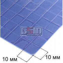 Термопрокладка силиконовая толщина 1мм , 10 x 10 мм