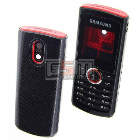 Корпус для Samsung E2120, E2121, красный, high-copy