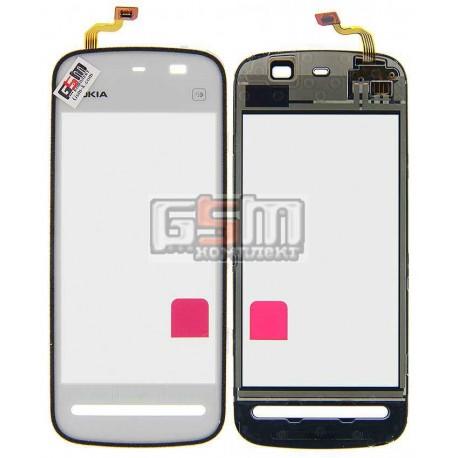 Тачскрин для Nokia 5228, 5230, 5233, 5235, белый