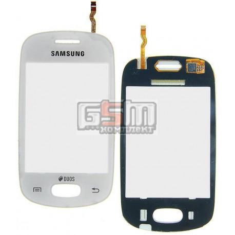Тачскрин для Samsung S5282, S5310, белый