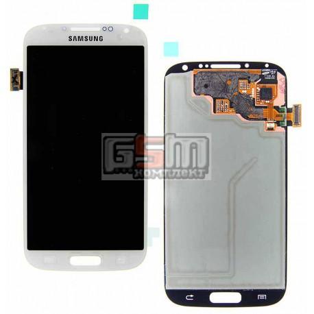 Дисплей для Samsung I337, I545, I9500 Galaxy S4, I9505 Galaxy S4, I9506 Galaxy S4, I9507 Galaxy S4, M919, белый, с сенсорным экр