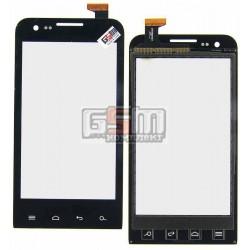 Тачскрин для Prestigio MultiPhone 4040 Duo, черный