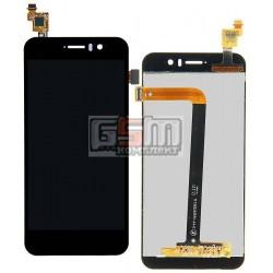 Дисплей для Jiayu G5, G5S, черный, с сенсорным экраном (дисплейный модуль), #TFT5K0203FPC-A1-E