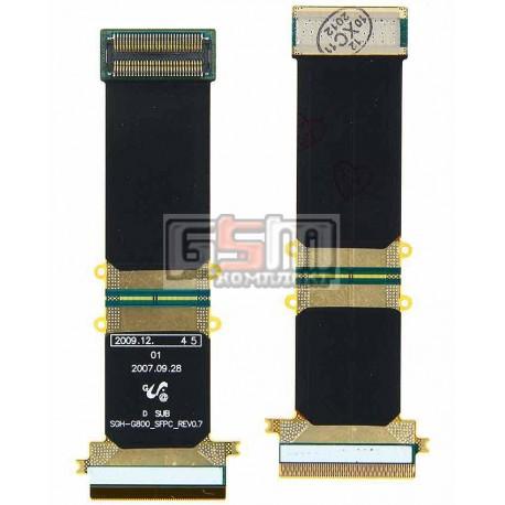 Шлейф для Samsung G800, межплатный, с компонентами