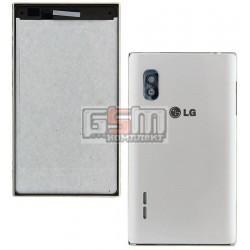Корпус для LG E610 Optimus L5, белый