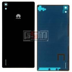 Задняя панель корпуса для Huawei Ascend P7, черная