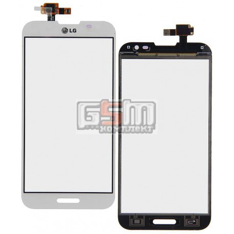 Тачскрин для LG E980, E985 Optimus G Pro, белый