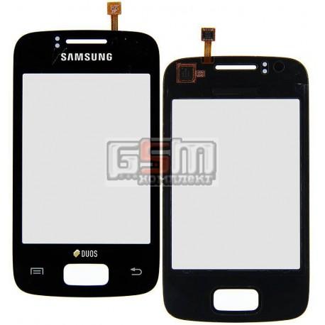Тачскрин для Samsung S6102 Galaxy Y Duos, черный