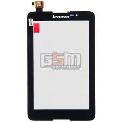 Тачскрин для планшета Lenovo IdeaTab A3500, черный, #AP070204
