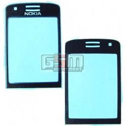 Стекло корпуса для Nokia 6288, черное