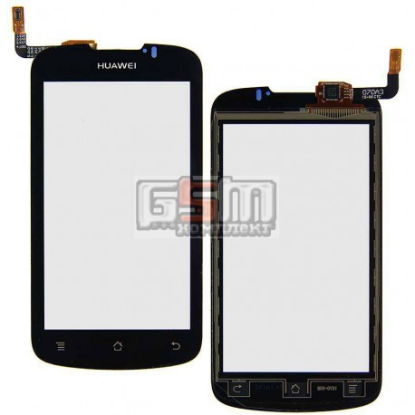 Тачскрин для Huawei U8815 Ascend G300, U8818, черный, #TM2066 940-1437-1R1 SDG-M