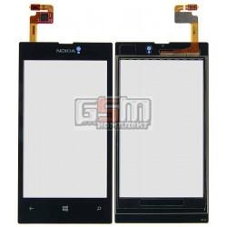 Тачскрин для Nokia 520 Lumia, 525 Lumia, черный