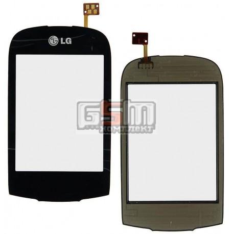 Тачскрин для LG T500, T510, T515, черный