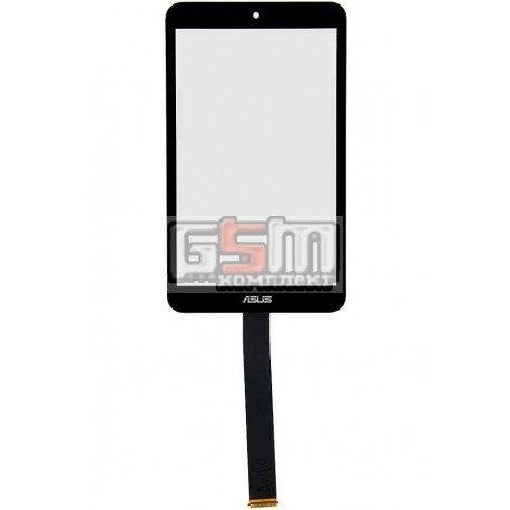 Тачскрин для планшета Asus MeMO Pad 8 ME181C, MeMO Pad 8 ME181CX, черный