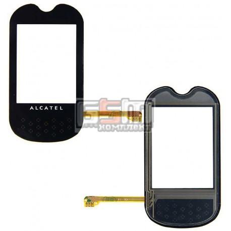 Тачскрин для Alcatel OT708, черный