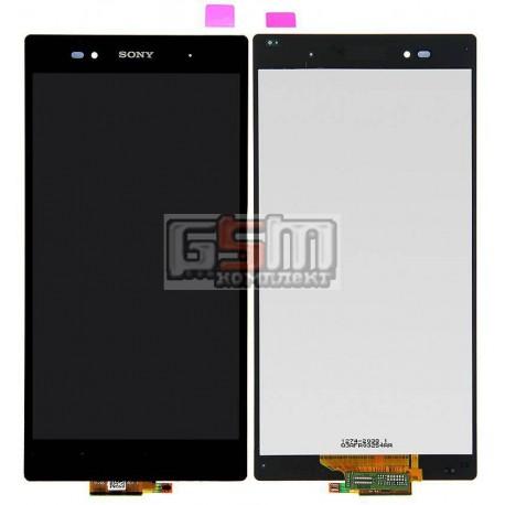 Дисплей для Sony C6802 XL39h Xperia Z Ultra, C6806 Xperia Z Ultra, C6833 Xperia Z Ultra, черный, original (PRC), с сенсорным экр