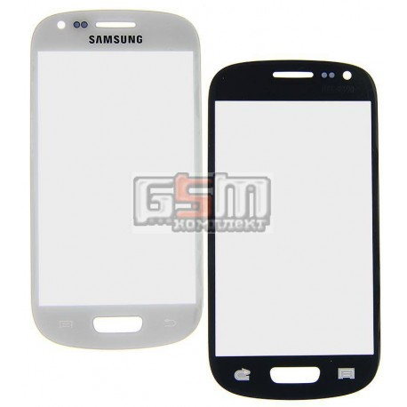 Скло дисплея Samsung I8190 Galaxy S3 mini, біле